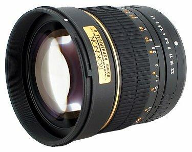 Объектив Rokinon 85mm f/1.4 Aspherical 4/3 (85M-O)