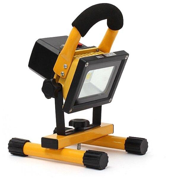 Прожектор светодиодный аккумуляторный 10 Вт Ledoxx LED-10-1