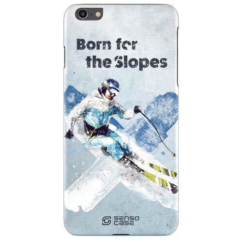 Фото - Чехол-накладка Sensocase 100084 + защитное стекло для Apple iPhone 6 Plus/iPhone 6S Plus лыжный спорт чехол накладка sensocase 100080 защитное стекло для apple iphone 6 plus iphone 6s plus лыжный спорт 2