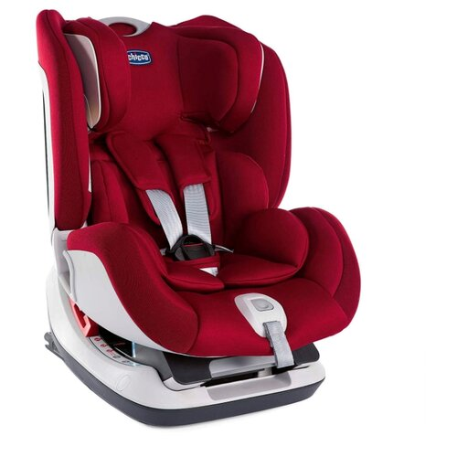 Автокресло группа 0/1/2 (до 25 кг) Chicco Seat Up Isofix, red passion