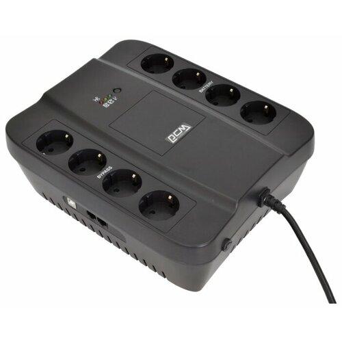 spd 1000u Интерактивный ИБП Powercom SPIDER SPD-1000U черный