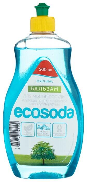 Mama Ultimate Бальзам для мытья посуды EcoSoda