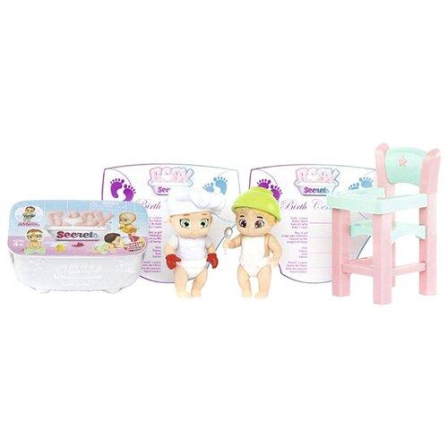 Набор Zapf Creation Baby Secrets с детским стульчиком 930-175 zapf creation baby secrets 930 328 бэби секрет набор с садовыми качелями