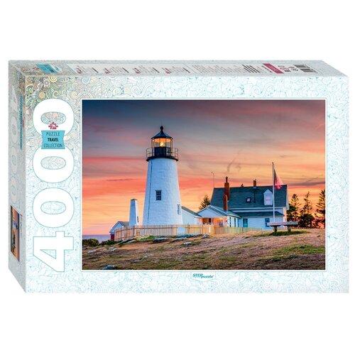 Купить Пазл Step puzzle Travel Collection США. Маяк на Пемаквид Пойнт (85412), 4000 дет., Пазлы
