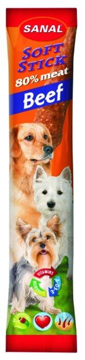 Лакомство для собак Sanal Soft Stick Говядина
