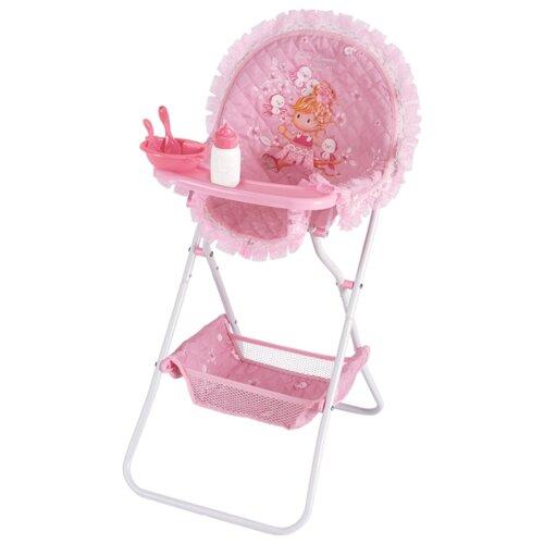 DeCuevas Стульчик для кормления Мария (53223/53217) розовыйМебель для кукол<br>
