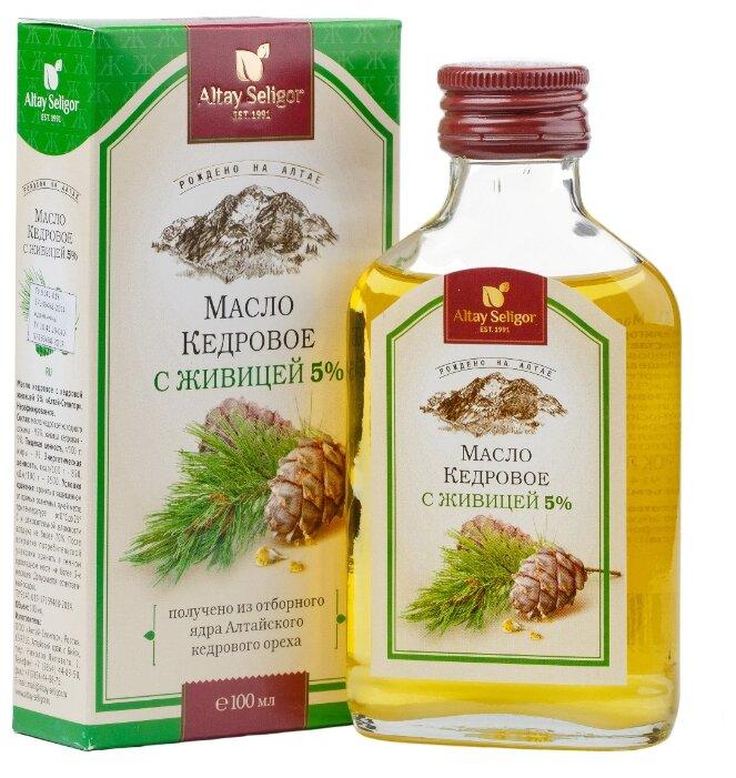 Altay Seligor Масло кедровое с кедровой живицей