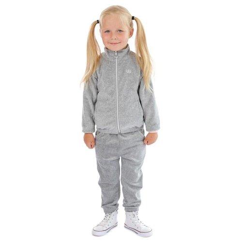 Олимпийка V-Baby размер 110, серый меланжТолстовки<br>