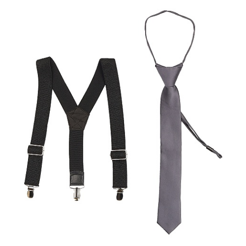 Подтяжки Stilmark черный/серый ремень stilmark черный зеленый