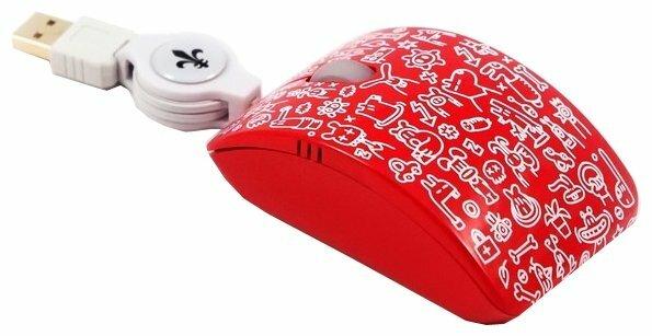Мышь Bodino MULTI Red USB