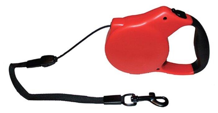 Ferplast Club Ферпласт поводок нейлоновый для собак G10/110 красный ( Поводки нейлоновые и брезентовые )