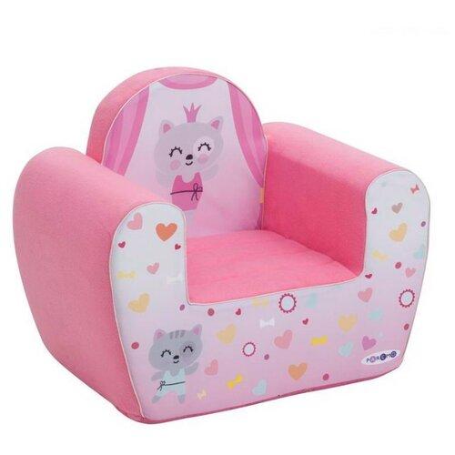 Классическое кресло PAREMO детское PCR317 размер: 54х38 см, обивка: ткань, цвет: Мимими Крошка Ми