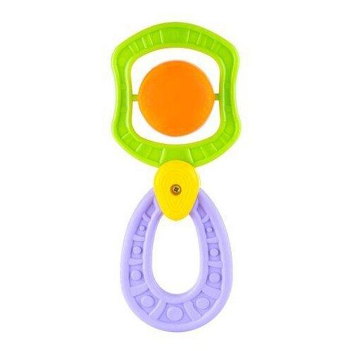 Прорезыватель-погремушка Knopa Сатурн зеленый/оранжевый/фиолетовыйПогремушки и прорезыватели<br>