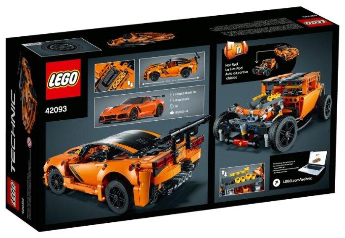 Конструктор LEGO Technic 42093 Шевроле Корветт ZR1