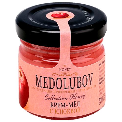 Крем-мед Medolubov с клюквой 40 мл