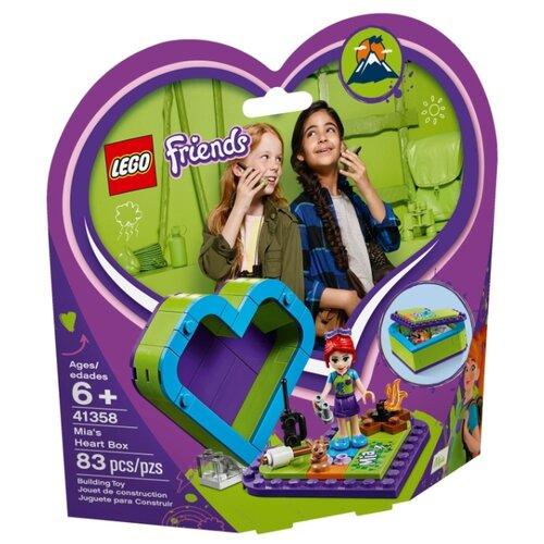 Конструктор LEGO Friends 41358 Шкатулка-сердечко Мии lego friends 41354 шкатулка сердечко андреа конструктор