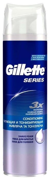 Пена для бритья Series питающая и тонизирующая Gillette