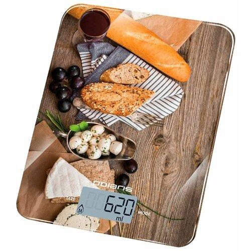Кухонные весы Polaris PKS 1044DG коричневый/бежевый/белый кухонные весы polaris pks 1044dg