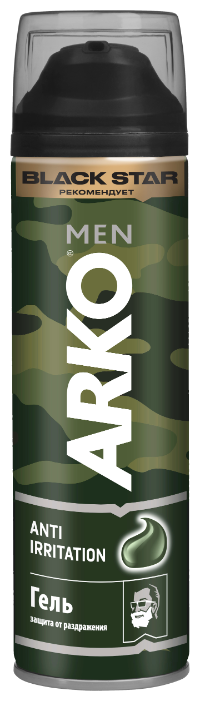 Гель для бритья Anti-Irritation Arko