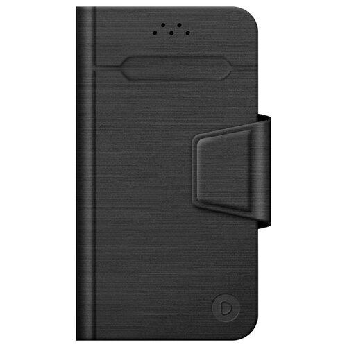 Чехол универсальный Deppa Wallet Fold M черный deppa чехол флип deppa универсальный размер m 4 3 5 5 black