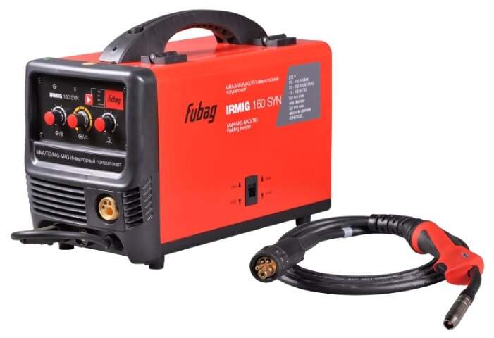 Сварочный аппарат Fubag IRMIG 160 SYN (TIG, MIG/MAG, MMA)