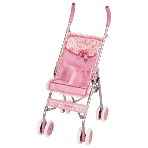 Купить Прогулочная коляска DeCuevas Мартина, 75 см (90126) розовый, Коляски для кукол