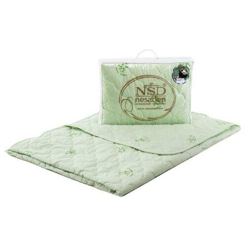 Одеяло НеСаДен Престиж Бамбук 150 г/м2 зеленый 140 х 205 смОдеяла<br>