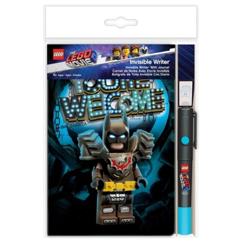 lego Канцелярский набор LEGO Lego Movie 2 Batman (52301), 3 пр., черный