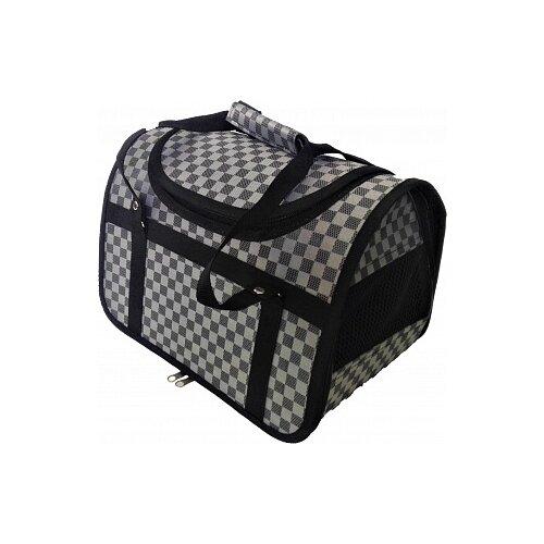 Переноска-сумка для кошек и собак LOORI Z8609 40х25х27 см сереброТранспортировка, переноски<br>