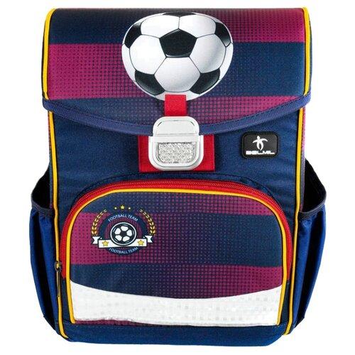 Купить Belmil Ранец Click - Football Club (405-45/783) синий/фиолетовый, Рюкзаки, ранцы