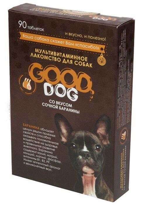 Добавка в корм Good Dog со вкусом сочной баранины
