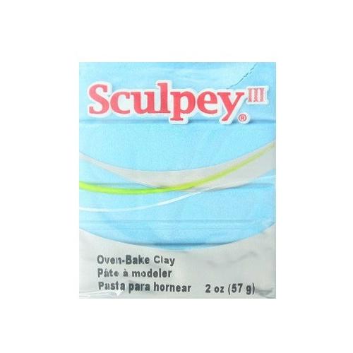 Купить Полимерная глина Sculpey III 1103 (светло-голубой), 57г, Глина