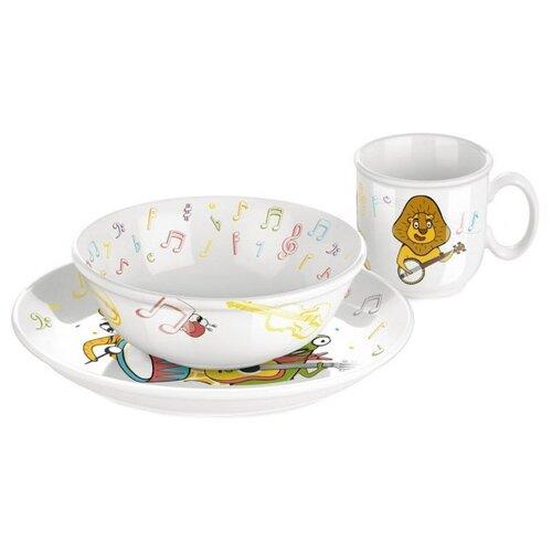 Набор для завтрака Tescoma Bambini Музыканты 3 предмета набор для завтрака osz disney cars принцессы 3 предмета