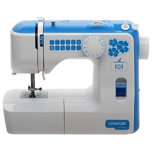 Швейная машина Comfort 535, бело-голубой