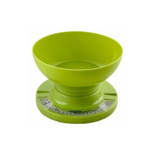 Кухонные весы VIGOR HX-8209 зеленый весы кухонные vigor hx 8209