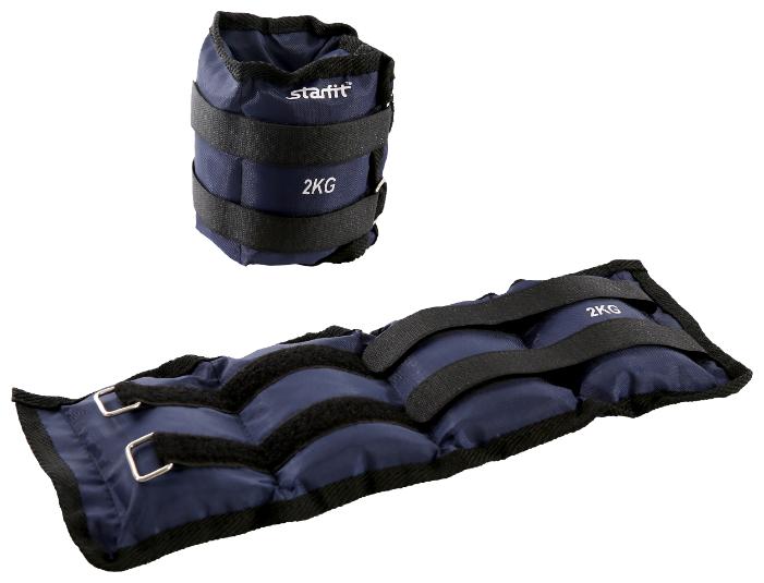 Набор утяжелителей 2 шт. 2 кг Starfit WT-401