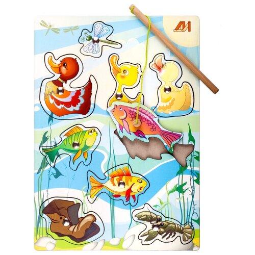 Рыбалка Деревянные игрушки На