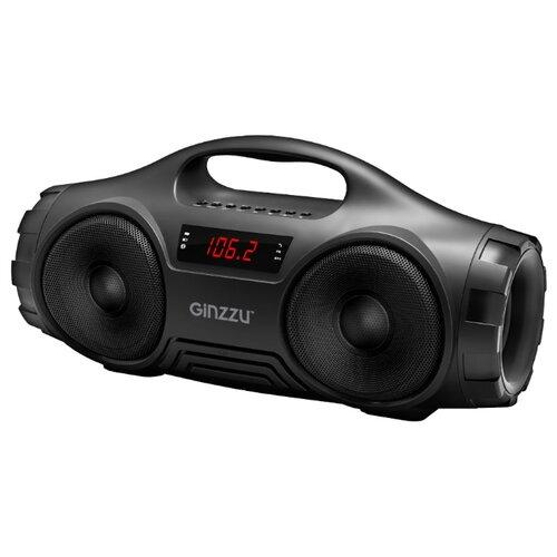 Портативная акустика Ginzzu GM-876B black