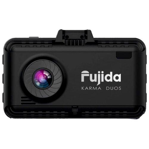 Видеорегистратор с радар-детектором Fujida Karma Duos, 2 камеры, GPS, ГЛОНАСС черный радар детектор fujida magna