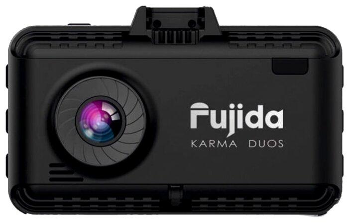 Видеорегистратор с радар-детектором Fujida Karma Duos, 2 камеры, GPS, ГЛОНАСС — купить по выгодной цене на Яндекс.Маркете