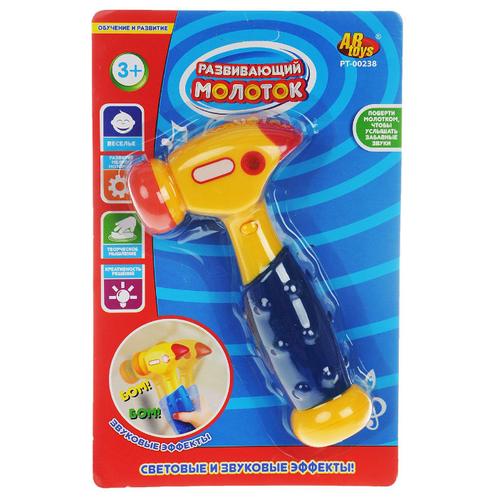 Интерактивная развивающая игрушка ABtoys Молоток PT-00238Развивающие игрушки<br>