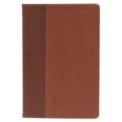 Купить Ежедневник Collezione Классикнедатированный, искусственная кожа, А5, 136 листов, темно-коричневый, Ежедневники, записные книжки