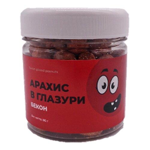 Арахис SNACK SNACK Арахис в глазури бекон пластиковая банка 80 г nuts for life арахис в сахарной глазури с соком натуральной клюквы 115 г