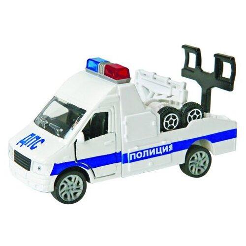 Купить Эвакуатор Пламенный мотор 870364 13 см белый, Машинки и техника