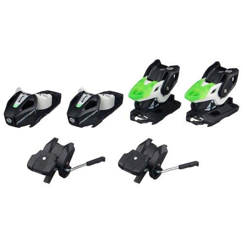 Горнолыжные крепления Fischer RSX 12 GW Powerrail Solid Black/White/Green скистопы 85