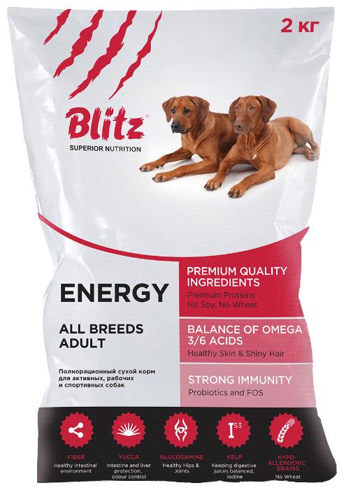 Корм для собак Blitz Adult Dog Energy dry