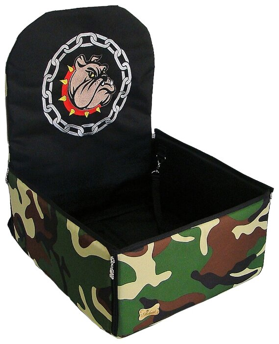 Автогамак для собак Melenni Стандарт Злой бульдог 1 45х45х57 см
