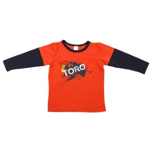 Лонгслив V-Baby, размер 110, красный v baby куртка v baby красный 110