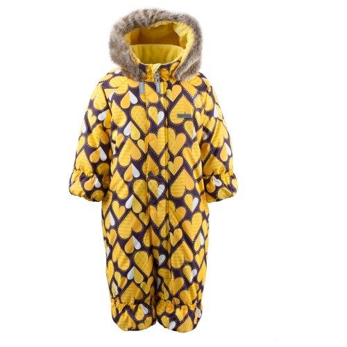 Купить Комбинезон KERRY ZOO K19406 размер 68, 1090 желтый, Теплые комбинезоны