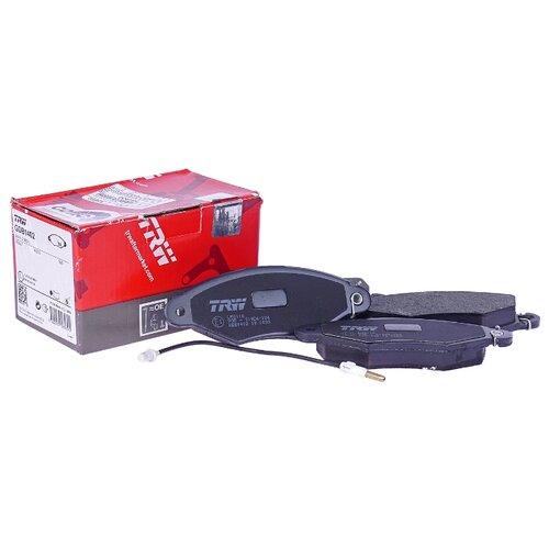Фото - Дисковые тормозные колодки передние TRW GDB1402 для Renault Kangoo (4 шт.) дисковые тормозные колодки передние trw gdb3286 для toyota highlander lexus rx 4 шт